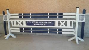 Werbesprung-Polizei